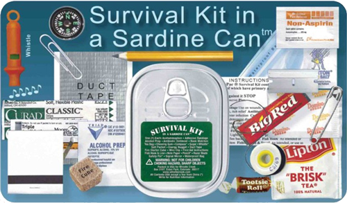 Sardine Can Survival Kit